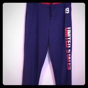 🇱🇷🇱🇷Fifth Sun United States logo joggers